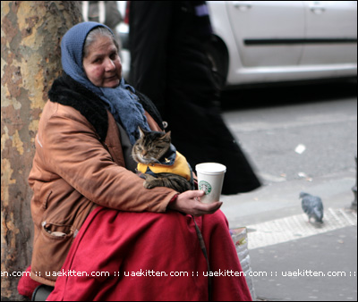There were ALOT of beggars in Paris & London.. (& each doing it in their own